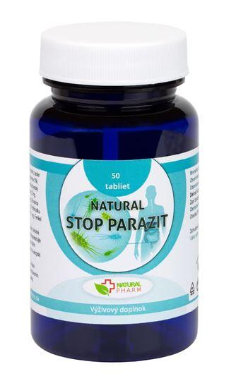 Obrázok Natural STOP PARAZIT tablety 50 ks  Exp. 10.2021