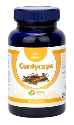 Obrázok pre výrobcu Cordyceps tablety 200 ks