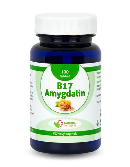 Obrázok Amygdalin B17 20 mg tablety 100 ks