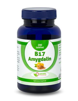 Obrázok pre výrobcu Amygdalin B17 20 mg tablety 200 ks