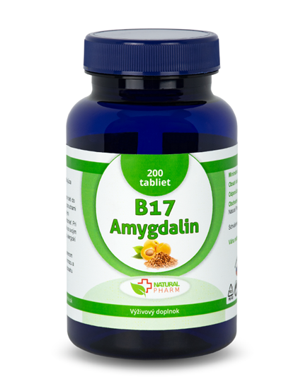 Obrázok Amygdalin B17 20 mg tablety 200 ks