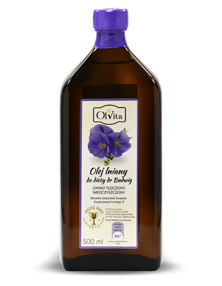 Obrázok pre výrobcu Ľanový olej dr.Budwig 500 ml