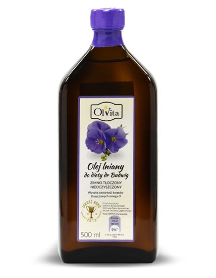 Obrázok Ľanový olej dr.Budwig 500 ml
